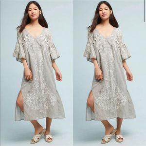 Anthropologie Maeve Tisdale Tassel Dress